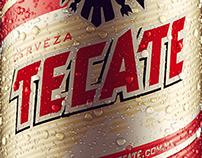 3D Tecate Beer Cans