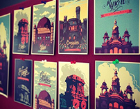 Travel Postcards & Posters