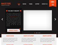 Magstore web design