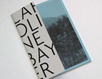 Caroline Bayer - artist catalog