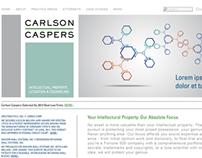 Carlson Caspers Website Rebrand
