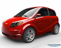 Kestrel Bio-composite electric car