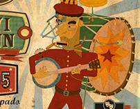 One Man Band Festival poster