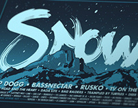 SnowBall 2012 Commemorative Poster