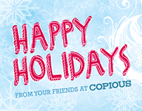 Copious Holiday Card