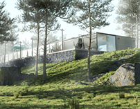 Villa in the forest