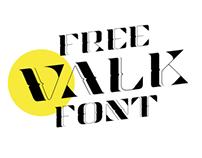 Valk Display free font