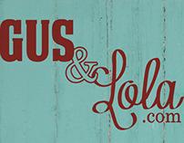 Gus & Lola Logo and Tags