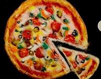 Art With Salt - Pizza