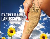 Surrealism Ad Poster - Gillette Venus