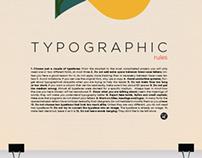 Typographic Rules