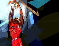 Sports illustration ( color sketches)