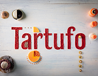 Tartufo: Food Art & Typography