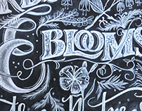 Herbs & Blooms -Traditional Chalk