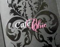 Menu / Carte cocktails : Café-chic