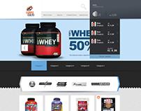 E-commerce - Body Supplements