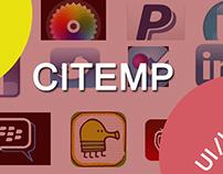 CITEMP APP (UI/UX design)