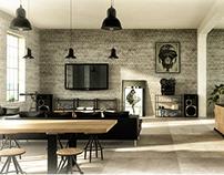 Interior design / industrial