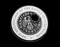 Commemorative silver medal of the Battle of Stalingrad