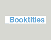 BOOKTITLES (2013)