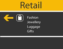 Heathrow Retail Branding