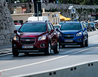Chevrolet Trax lunch event central and eastern europe
