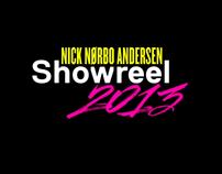 Showreel 2013 - Nick Nørbo Andersen