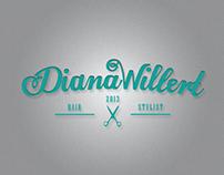 Diana Willert Hair Stylist Corporate Design