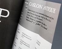 Beer advertising typeface catalog