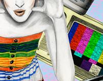 Illustration for Nylon magazine June/July 2013