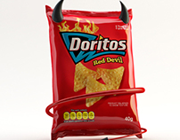 RED DEVIL DORITOS 3D