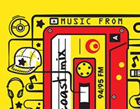 East Cost Radio - 80's, 90's & Today