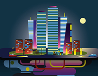Night City and Other Illustrations.