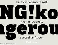 Kondolar™ typeface