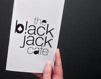 The BlackJack Cafe — menu and communication kit