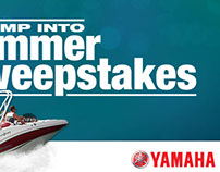 Yamaha Outboards - Jump Into Summer Sweepstakes