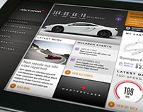 McLaren Automotive 'Connected Car'