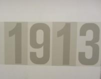 Fullerton College Centennial Exhibition - 1913 Wall