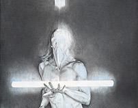 Entropic gravity (2014) 56 x 76 cm, Daan Noppen