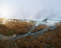 Valley of Steam - Southern Iceland /