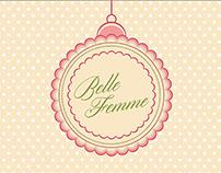 Belle Femme Hair & Beauty Sign Design