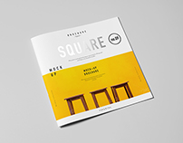Square Brochure / Catalog / Booklet Mock-up