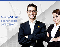 MadeiraMadeira - Landing page for sales representatives