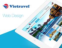 Web Design - Vietravel ( Redesign )