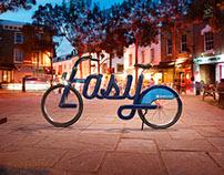 """TFL Boris Bikes """"Easy"""""""