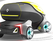 Autonomous Delivery Vehicle for Renault