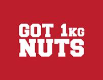 GOT 1KG NUTS - PACKAGING