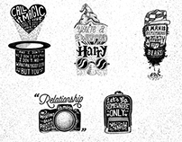 Hand Lettering (Typography) Volume 1