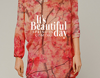THINK SPRING / textile prints