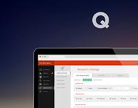 Web App Dashboard Design